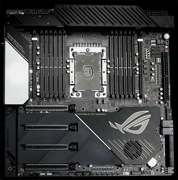 Материнская плата ASUS ROG Dominus Extreme для Xeon W-3175X