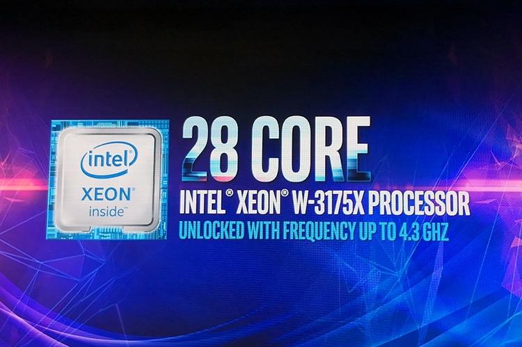 28-ядерный Xeon W-3175X с разгоном стал доступен для предзаказа