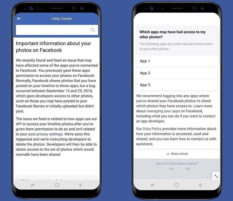 """Ошибка в Facebook привела к публикации закрытых фотографий у 6,8 млн пользователей"""""""
