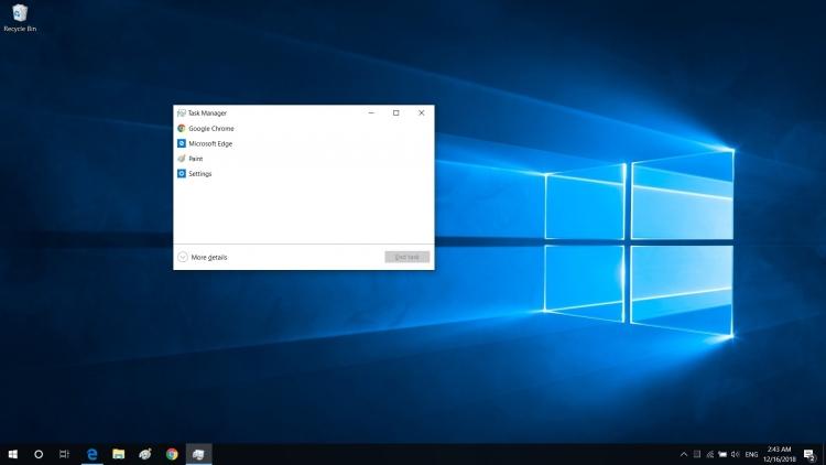 """Диспетчер задач Windows 10 получит интересную возможность"""""""