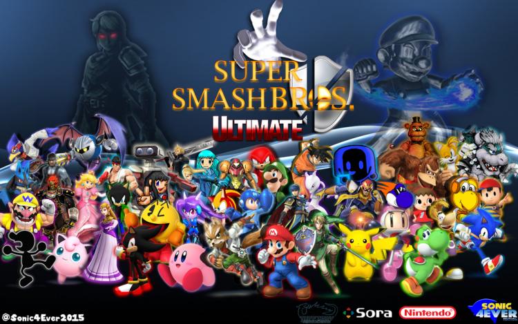 """Внушительный успех Super Smash Bros. Ultimate — три миллиона проданных копий в США"""""""