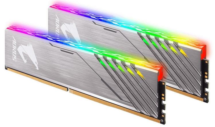 "GIGABYTE представила комплект Aorus RGB Memory без фейковых модулей"""