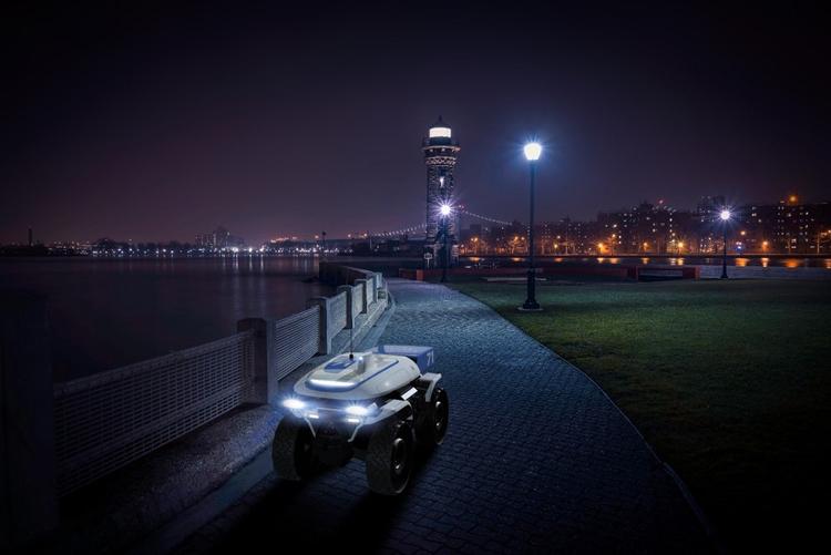"""Honda Autonomous Work Vehicle: универсальная платформа для роботизированных помощников"""""""
