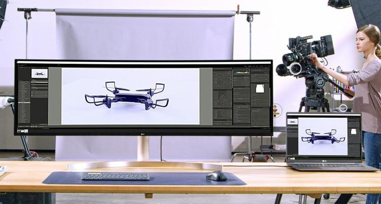 """LG UltraWide 49WL95: гигантский 49"""" монитор формата Dual QHD"""""""