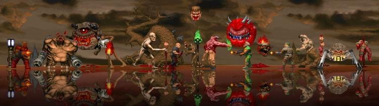 """«Лучше, чем 3D-ремейк»: нейросеть помогла улучшить текстуры и спрайты в Doom и Doom II"""""""