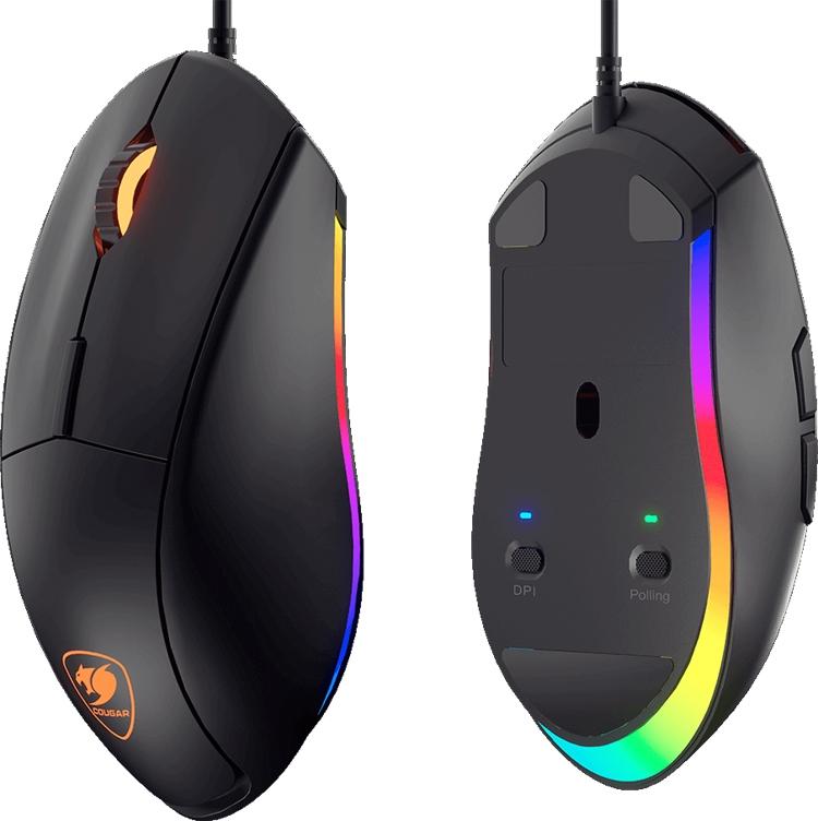 """Cougar Minos XT: игровая мышь с многоцветной подсветкой"""""""