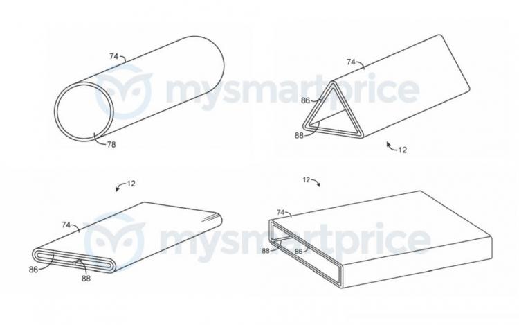 """Apple запатентовала странное устройство с экраном, сгибающимся на 360 градусов"""""""