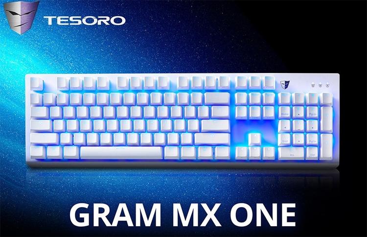 """Tesoro Gram MX One: механическая клавиатура с лаконичным дизайном"""""""