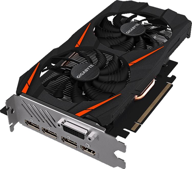 "GIGABYTE GeForce GTX 1060 WindForce 2X OC D5X 6G: видеокарта с разгоном"""