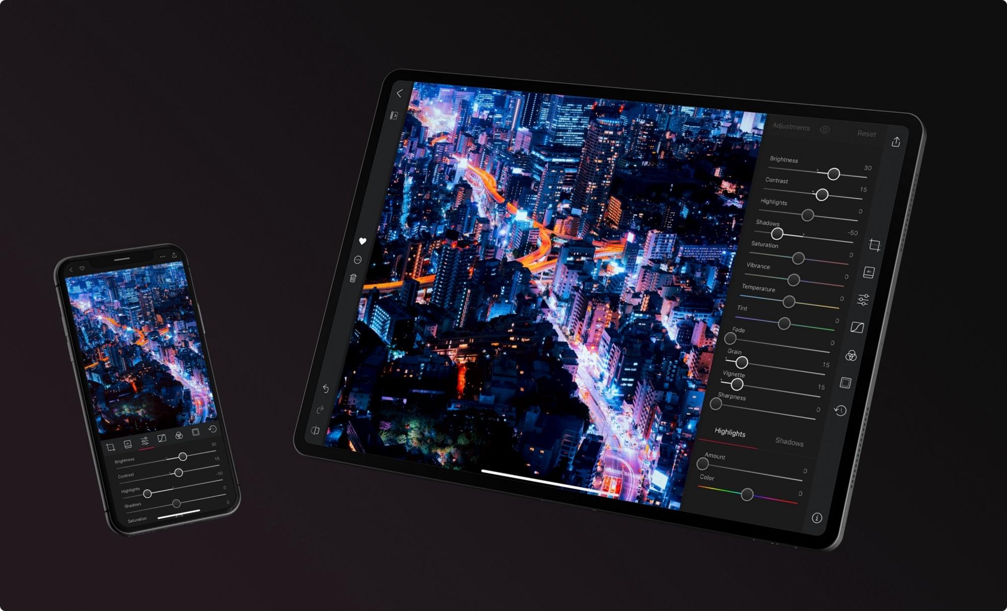 Lightroom для iPad получил конкурента в лице Darkroom