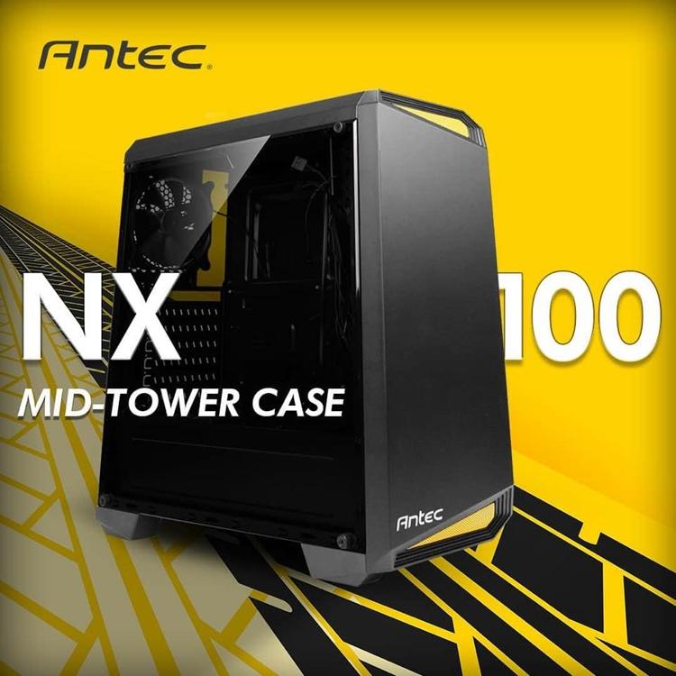 """Antec NX100: корпус с прозрачной стенкой для недорогого игрового ПК"""""""
