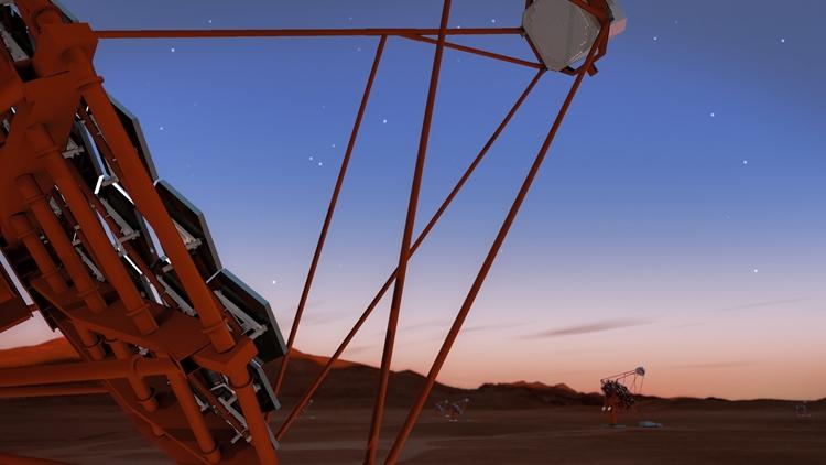 """В Чили появится решётка черенковских телескопов"""""""