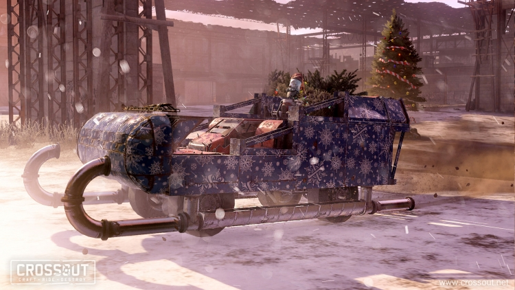 """В онлайн-экшене Crossout появилась полноценная сюжетная кампания «Пробуждение»"""""""
