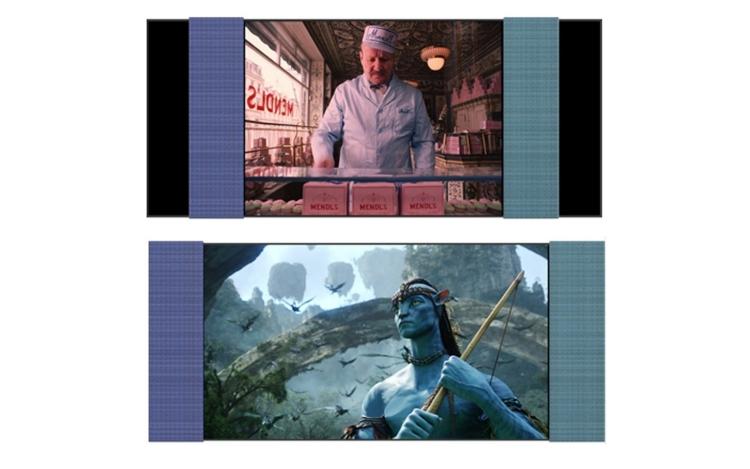 """У телевизоров LG будут раздвижные динамики для изменения соотношения сторон экрана"""""""