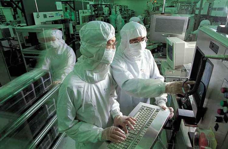 На заводе TSMC