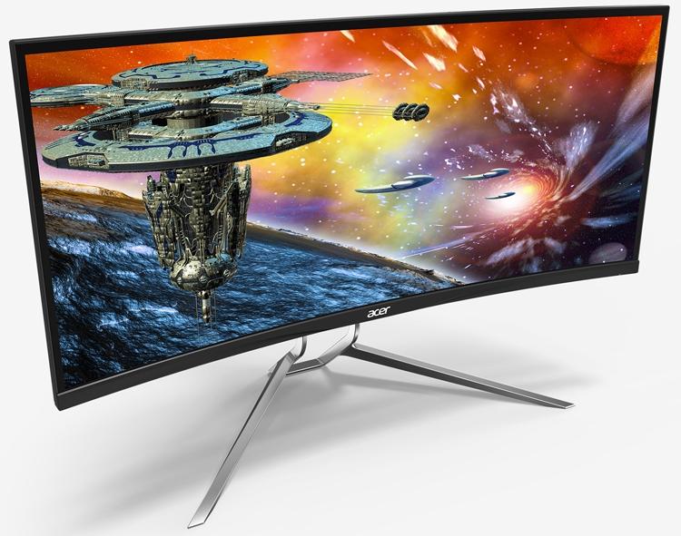 """Изогнутый игровой монитор Acer Predator XR342CKP оценён в 1800 долларов"""""""