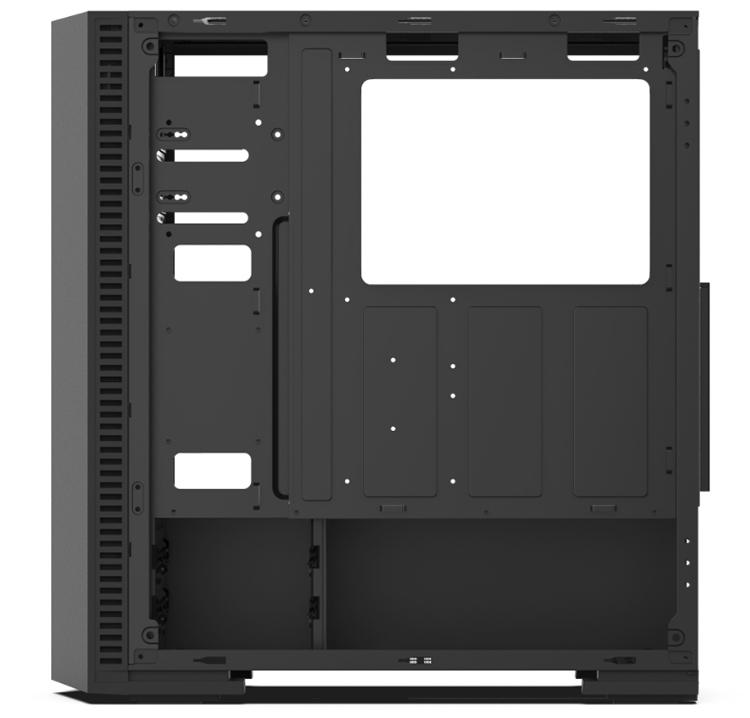 """SilentiumPC Gladius GD6 TG ARGB: корпус с фронтальной подсветкой для игрового ПК"""""""