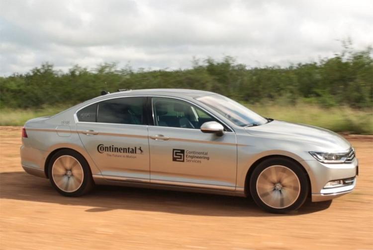 """В испытаниях шин Continental помогут беспилотные автомобили"""""""