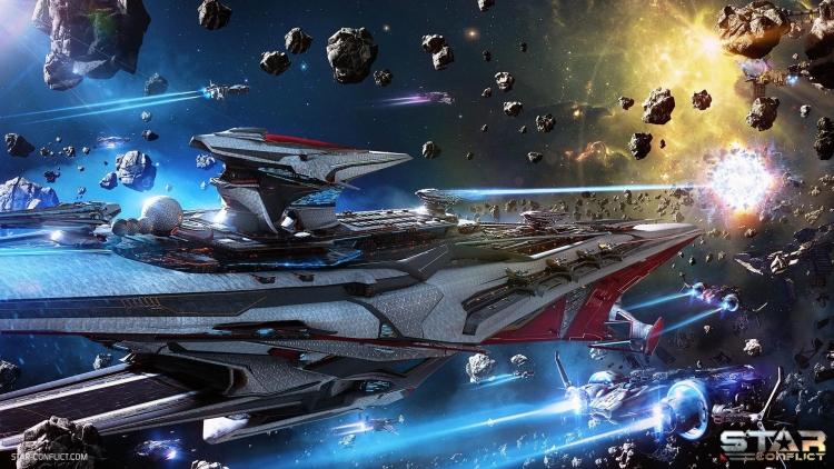 """Обновление «Возвращение гигантов» существенно изменило PvE-миссии онлайн-экшена Star Conflict"""""""