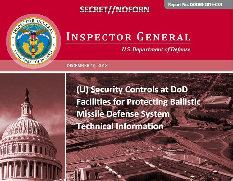 "Система ПРО США поражена «системными» нарушениями кибербезопасности"""