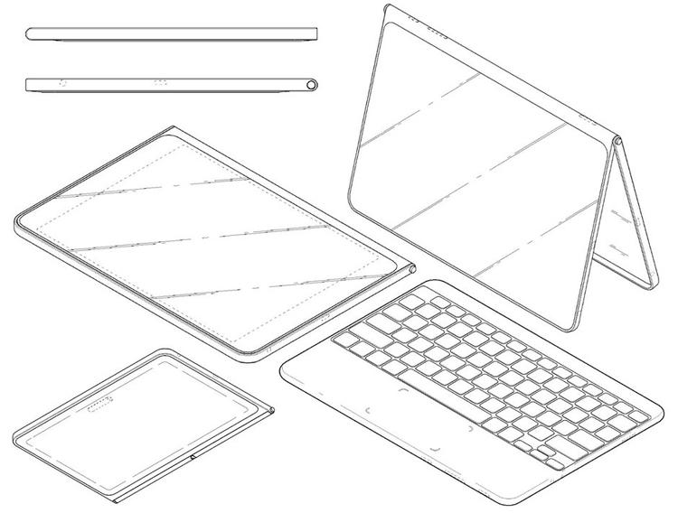 """LG проектирует планшет с безрамочным дисплеем"""""""