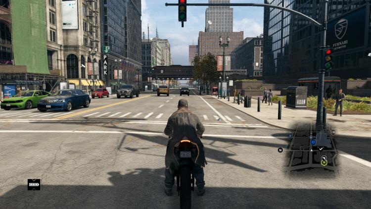 """Вышла масштабная модификация Living_City для Watch Dogs, которая наполняет Чикаго жизнью"""""""