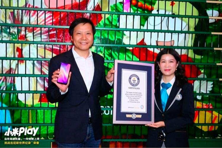 """Xiaomi установила мировой рекорд с помощью смартфона Mi Play"""""""