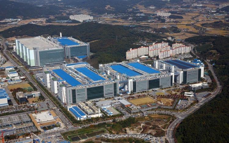 Завод Samsung A3 в Асане (Южная Корея)