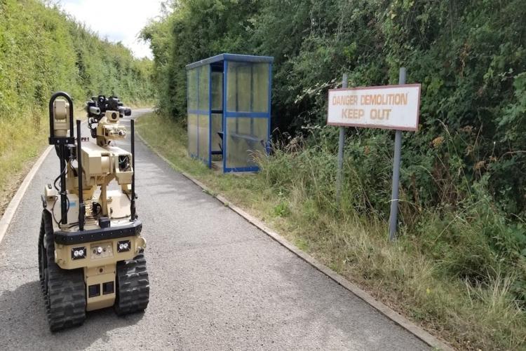 """Британские военные роботы-сапёры получили поддержку обратной тактильной связи"""""""