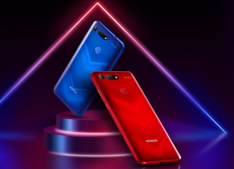 """Honor V20: смартфон с «дырявым» экраном, мощной камерой и чипом Kirin 980"""""""