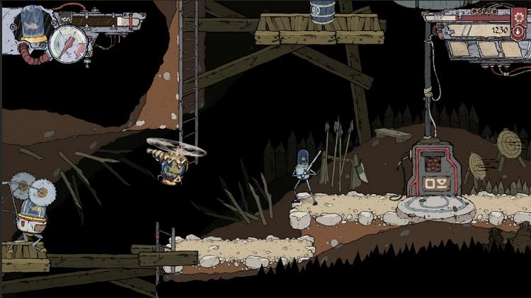 """Очаровательная рисованная метроидвания с роботами и рыбами Feudal Alloy выйдет в январе"""""""