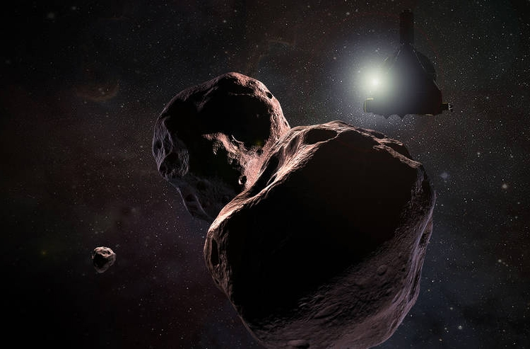"""Станция New Horizons начинает сближение с объектом из пояса Койпера"""""""