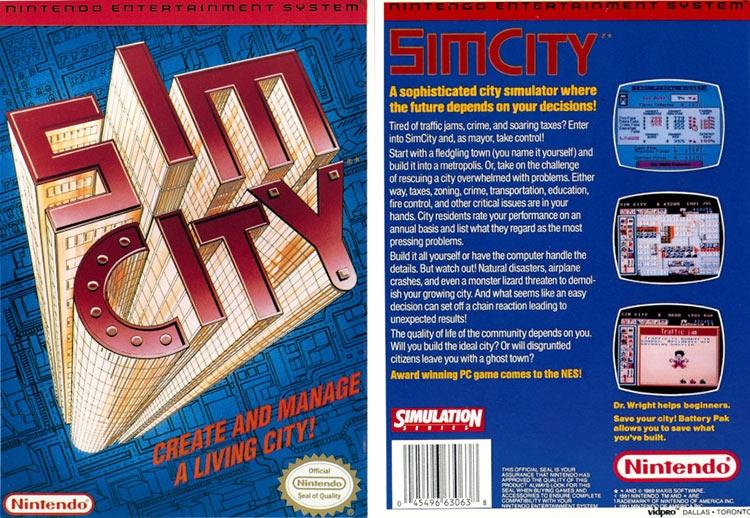 """Прототип SimCity для NES «вышел в люди» спустя почти 30 лет"""""""