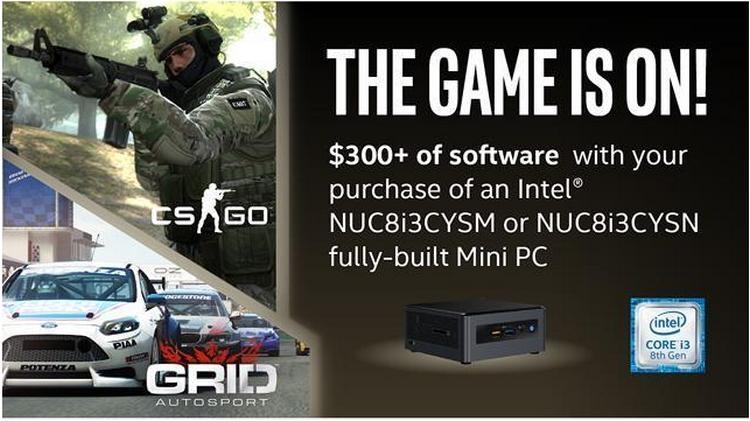 Мини-ПК Intel NUC Crimson Canyon на 10-нм процессорах Cannon
