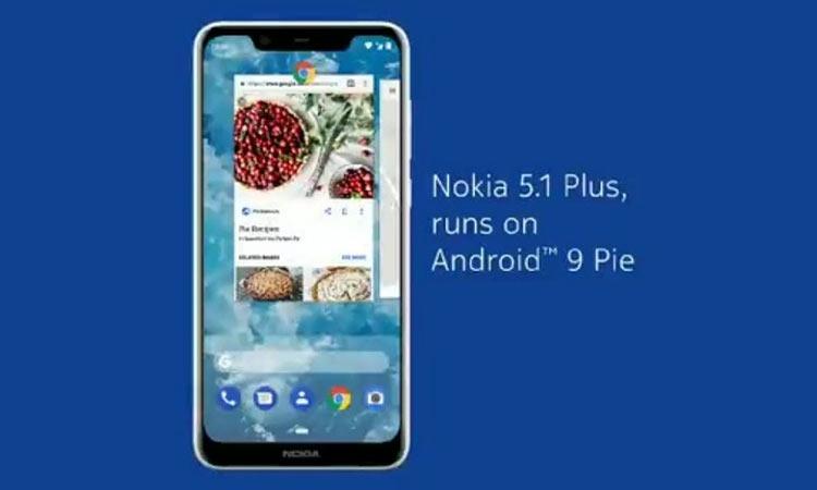 """Обновление Android 9 Pie для Nokia 5.1 Plus добавило профессиональный режим камеры"""""""