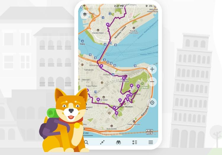 """Пользователи Maps.me смогут создавать маршруты и делиться ими с друзьями"""""""