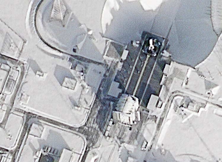 """Фото дня: взгляд на космодром Восточный с орбиты Земли"""""""