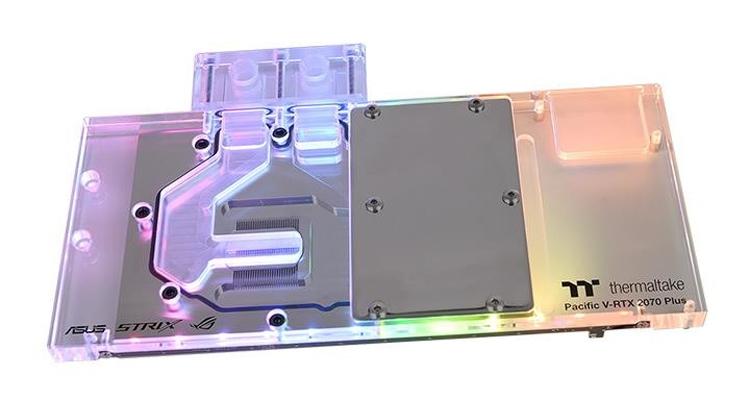 "Водоблок Thermaltake Pacific V-RTX 2070 Plus рассчитан на видеокарты ASUS"""
