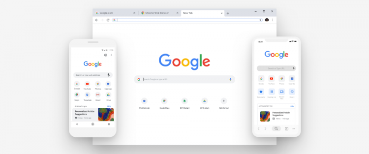 """Новый интерфейсGoogle Chrome разочаровал пользователей"""""""
