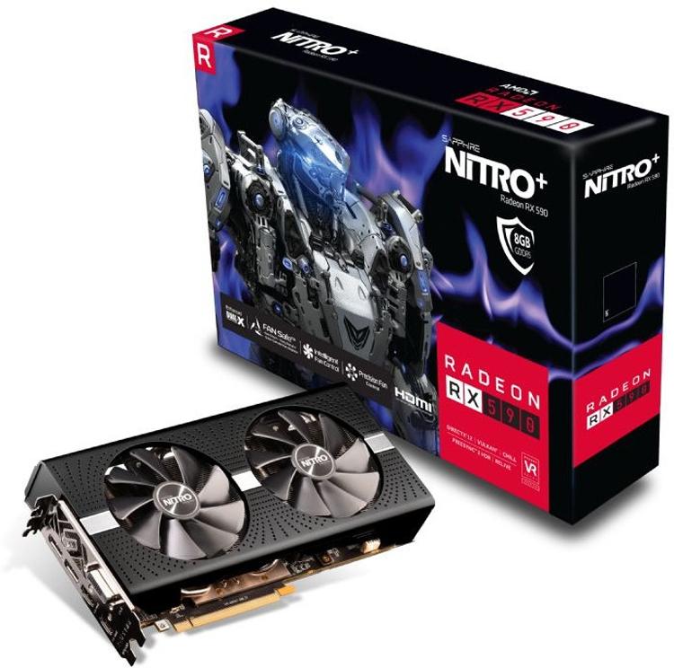 "Sapphire лишила ускоритель Nitro+ Radeon RX 590 8GD5 OC приставки Special Edition"""