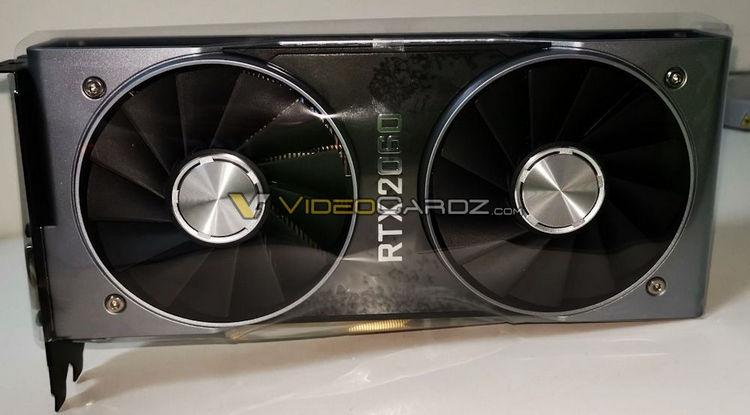 """NVIDIA не смогла сохранить в секрете внешний вид GeForce RTX 2060 Founders Edition"""""""