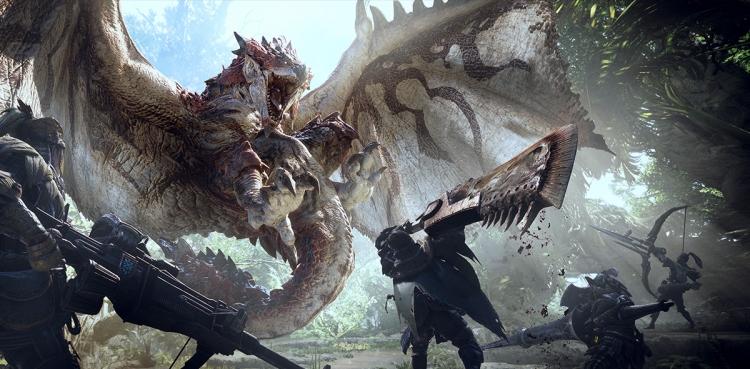 """Видео: ассасины ворвались во вселенную Monster Hunter: World"""""""