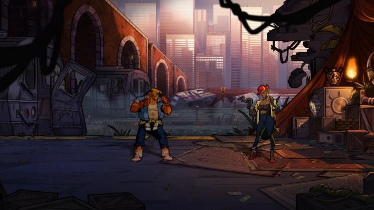 """Свежие скриншоты и геймплей аркадного экшена Streets of Rage 4"""""""