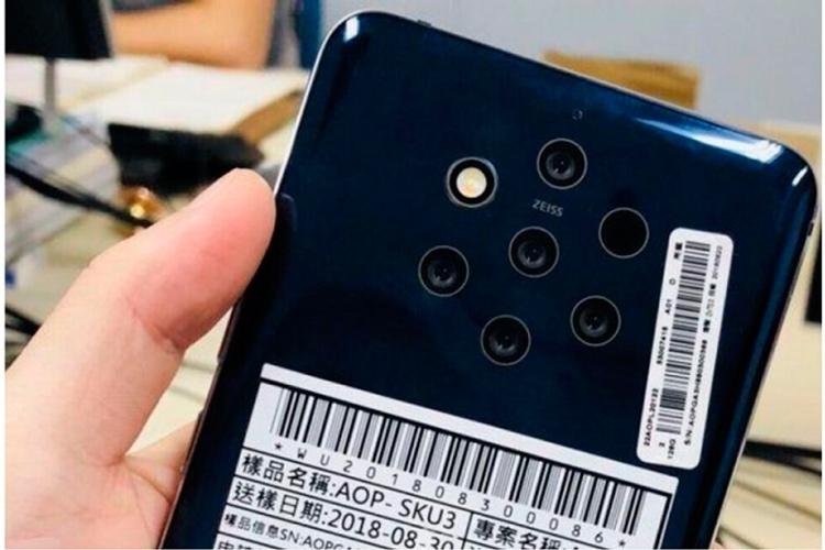 """Nokia 9 с пятимодульной камерой и сканером отпечатков в дисплее показался на пресс-рендере"""""""