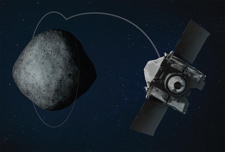 "Зонд OSIRIS-REx успешно вышел на орбиту астероида Бенну"""