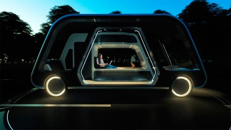 """Самоуправляемый отель на колёсах: путешествуй не выходя из номера"""""""