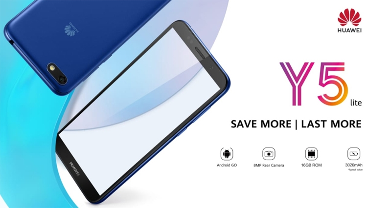 "Смартфон Huawei Y5 Lite Android Oreo обойдётся в 100 евро"""