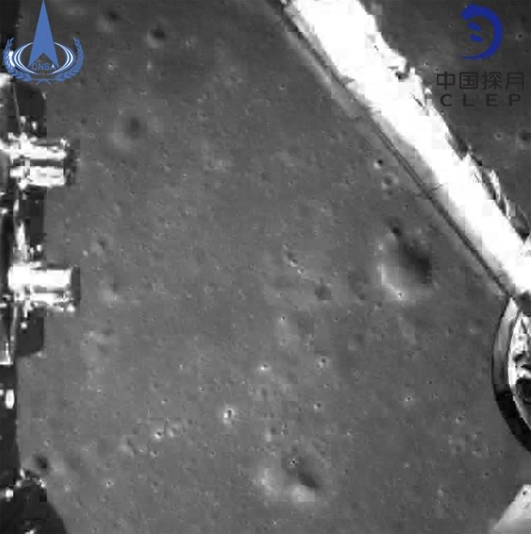 """Фото дня: обратная сторона Луны глазами китайского аппарата «Чанъэ-4»"""""""