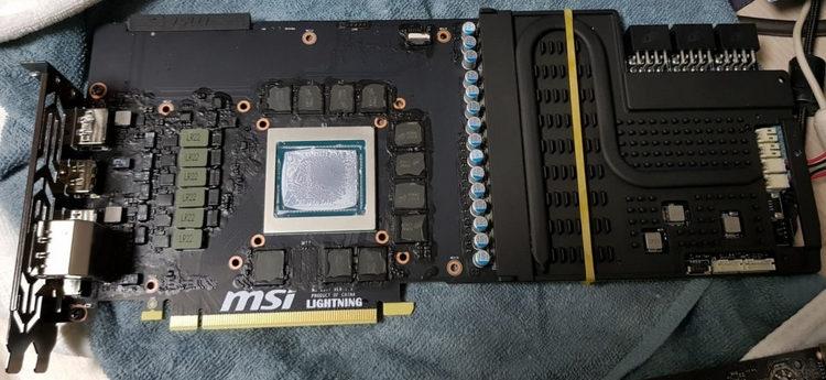 MSI prepares GeForce RTX 2080 Ti Lightning Z with a powerful