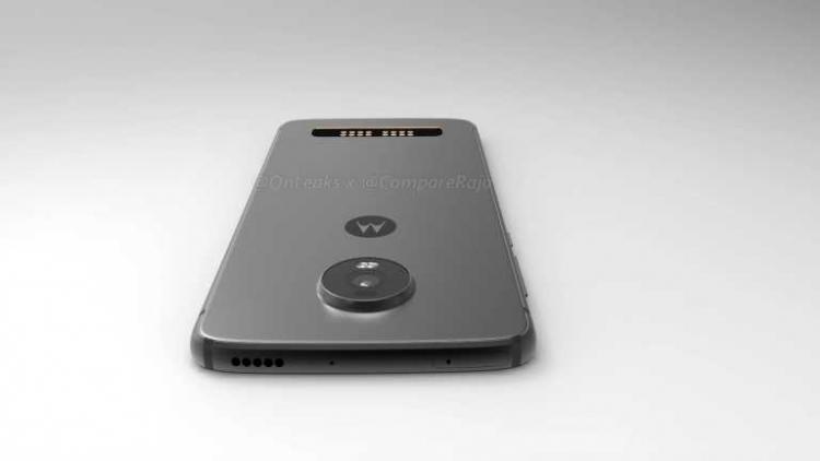 """Moto Z4 Play получит каплевидный вырез и контакты для Moto Mod"""""""